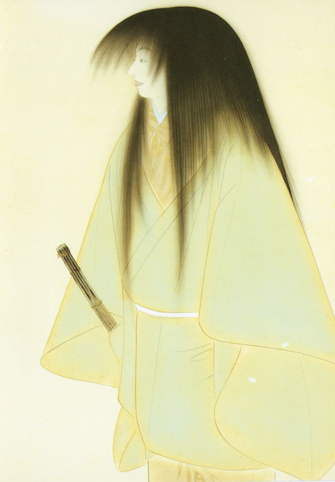 "Note card Nakamura Daizaburo's ""Hanamori"""