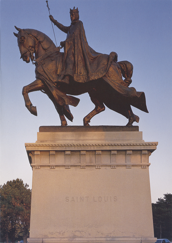 Note card Statue of St. Louis