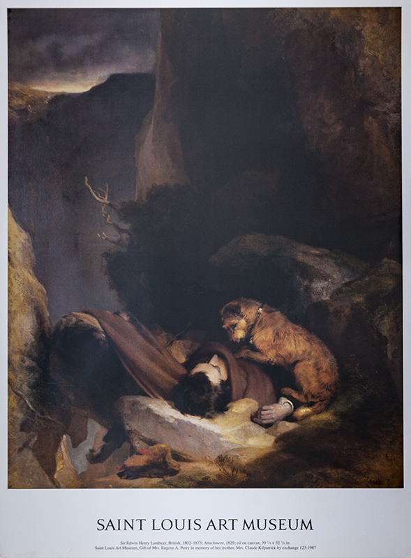 "Poster Landseer's ""Attachment"""