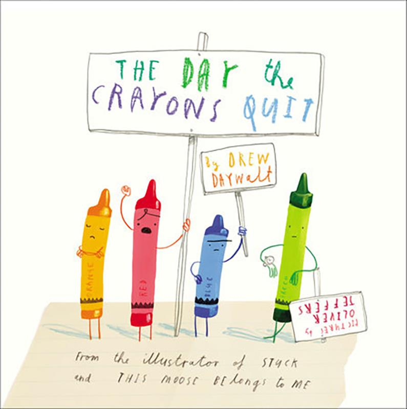 The Day the Crayons Quit,9780399255373