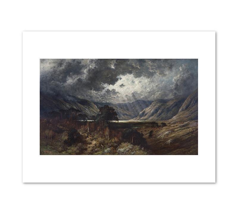 "Print Dore Loch Lomond 11 x 14"""