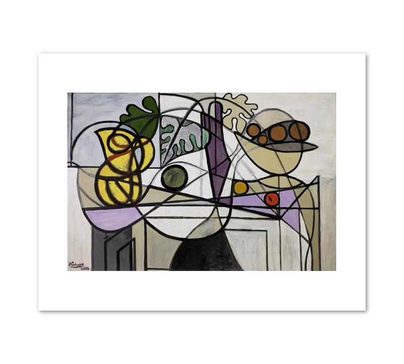 Print Picasso Pitcher and Bowl of Fruit 11 x 14""