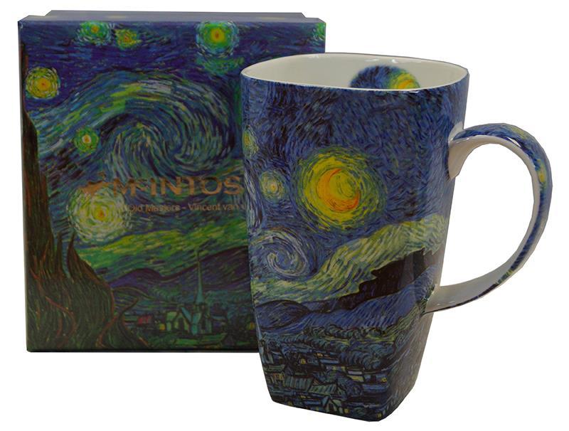 Mug Grande van Gogh Starry Night,MCVSGM