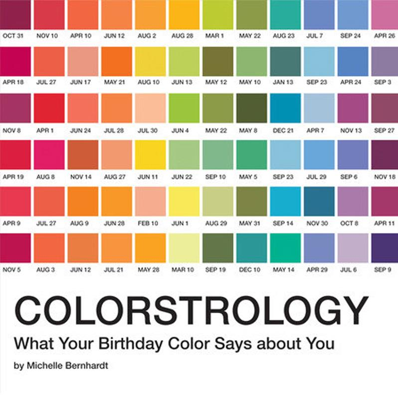 Colorstrology: What Your Birthday Says about You,9781594746918
