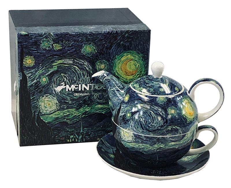 Tea for One Van Gogh Starry Night,MC020151