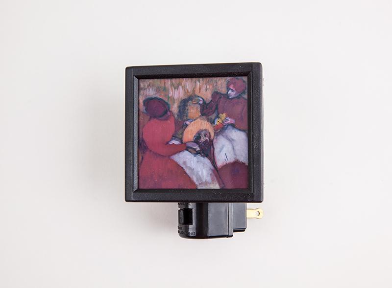 "Night Light Degas's ""Milliners"""