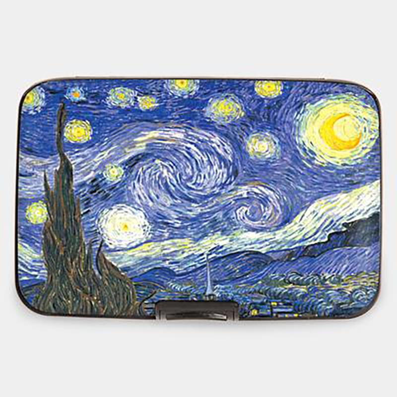 Wallet Armored Starry Night,71054