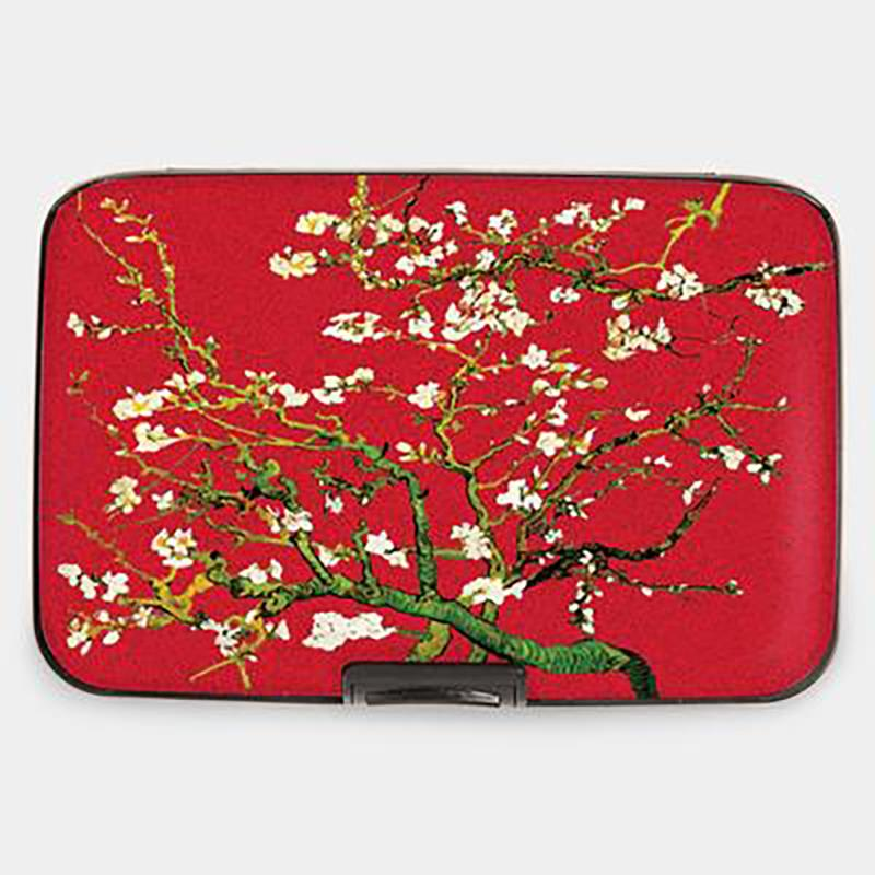 Wallet Armored van Gogh Almond Branch red,71453