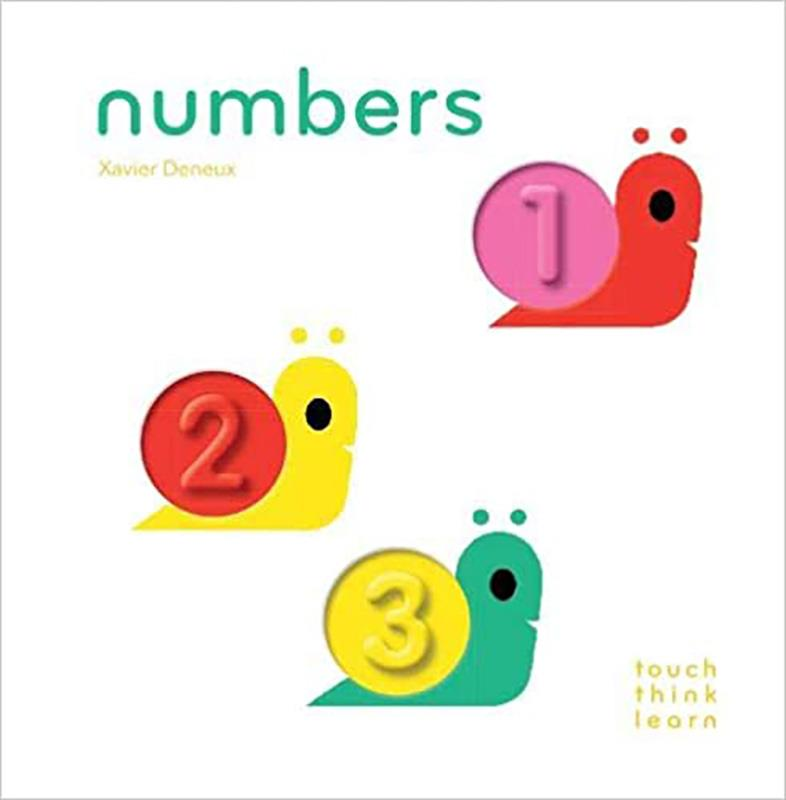 Numbers Touch Think Learn,9781452117249