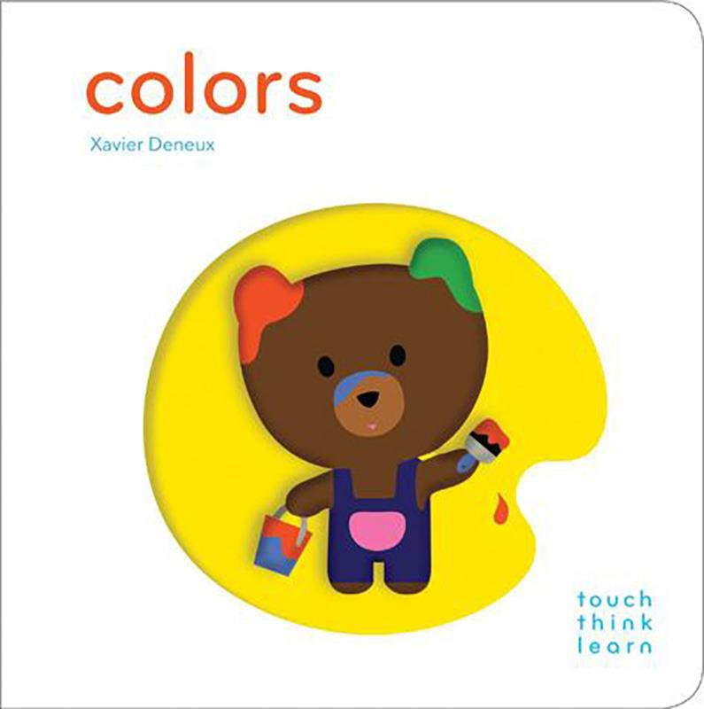 Colors Touch Think Learn,9781452117263