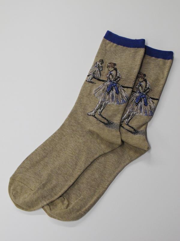 Socks Women's Degas Dancer Study blue,HC000160