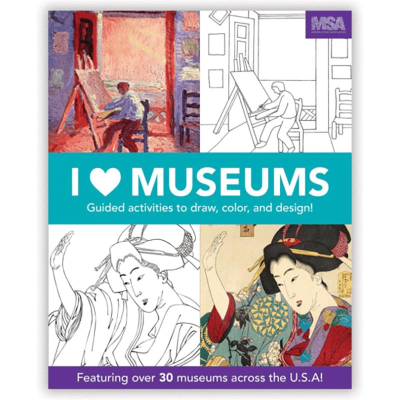 I Heart Museums Activity Book,9780735352186