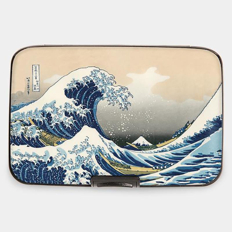 Wallet Armored Hokusai The Wave,71353