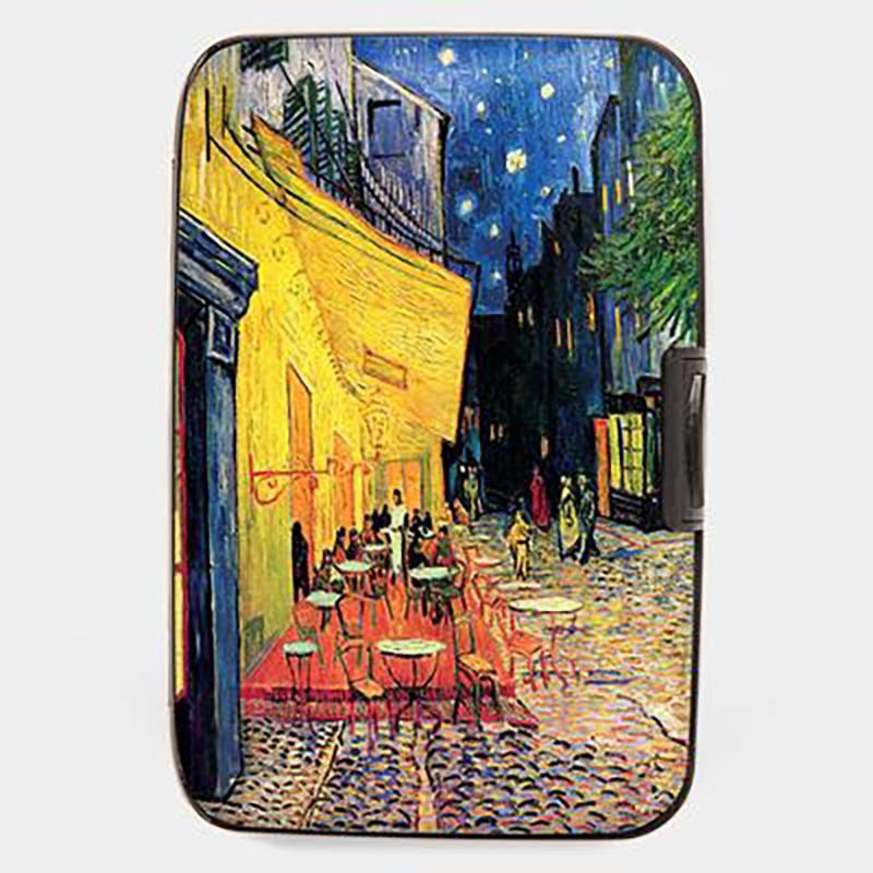 Wallet Armored van Gogh Cafe Terrace,71252