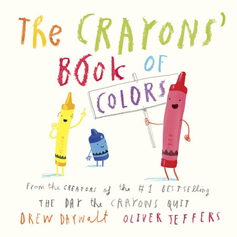 Crayons' Book of Colors,9780451534040