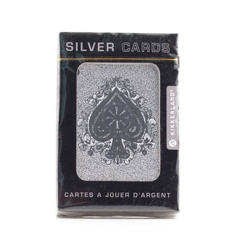 Playing Cards Silver,GG47