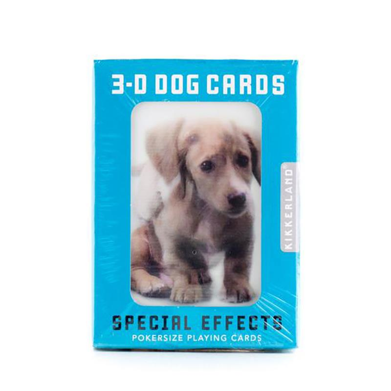Playing Cards 3D Dog,GG40