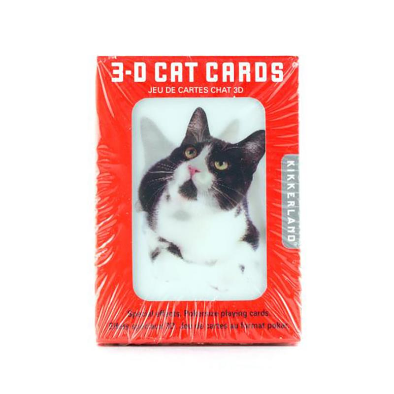 Playing Cards 3D Cat,GG38