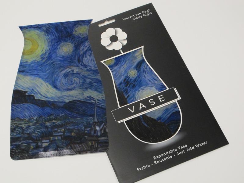 Vase Expandable Starry Night,V-66165