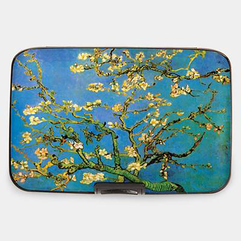 Wallet Armored van Gogh Almond Branch blue,71251