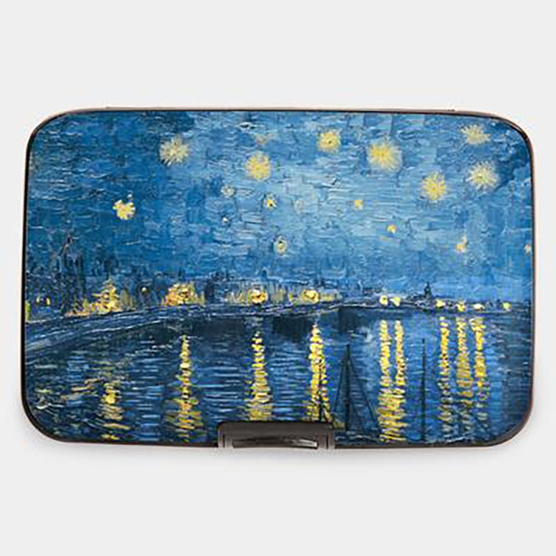 Wallet Armored van Gogh Starry Night Over the Rhone,71253