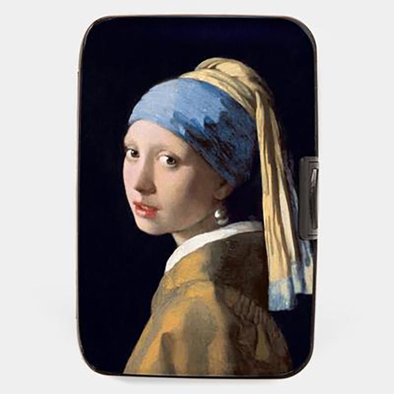 Wallet Armored Vermeer Girl with a Pearl Earring,71751