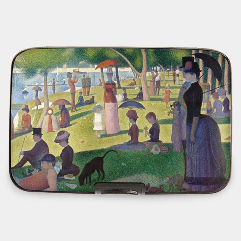 Wallet Armored Seurat Sunday on la Grande Jatte,71752