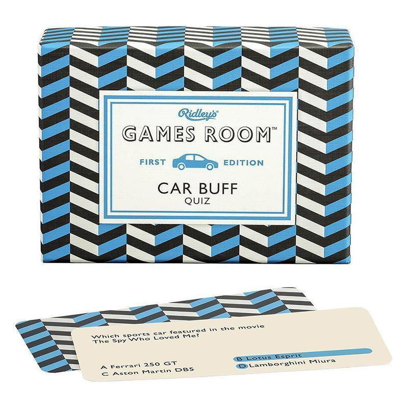 Game Car Buff Quiz V1 USA,GAM112