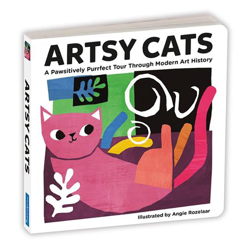Artsy Cats board book,9780735361065