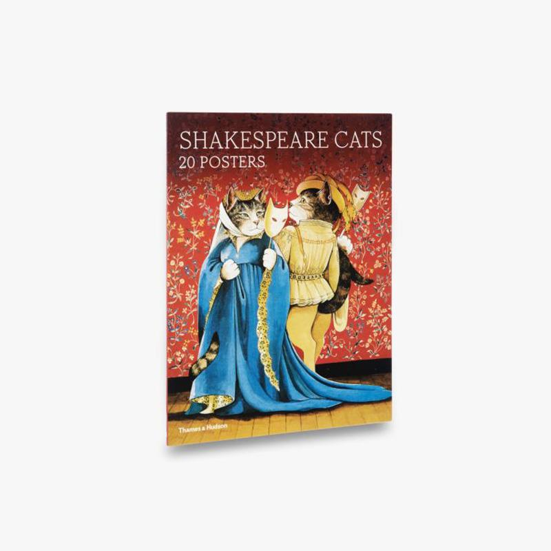 Shakespeare Cats- 20 Posters,9780500420584