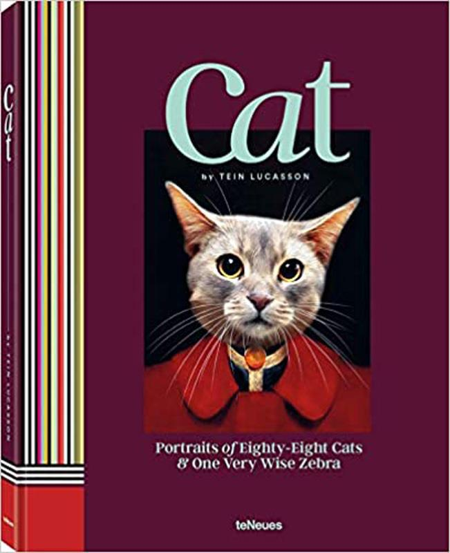 Cat: Potraits of Eighty-Eight Cats & One Very Wise Zebra,9783961712199