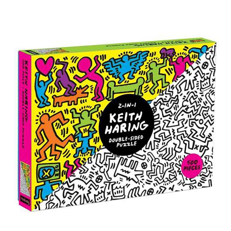 Puzzle Keith Haring Double Sided 500pcs,9780735355873