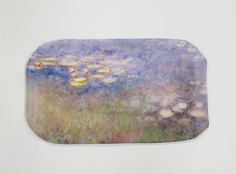 Face Mask Monet Waterlilies