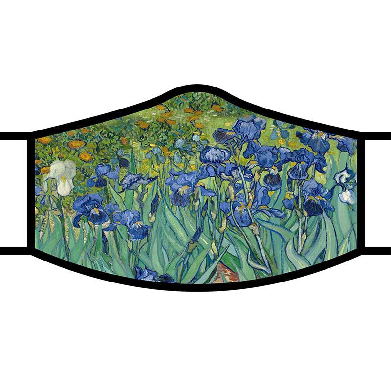 Face Mask FA van Gogh Irises,FM-M06