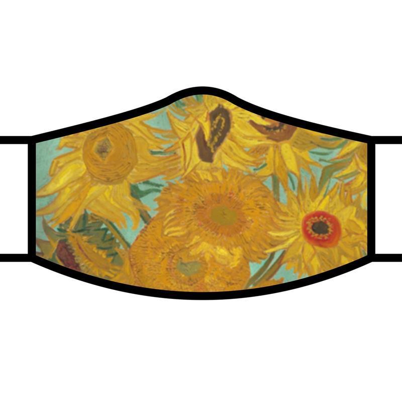 Face Mask FA van Gogh Sunflowers,FM-M25