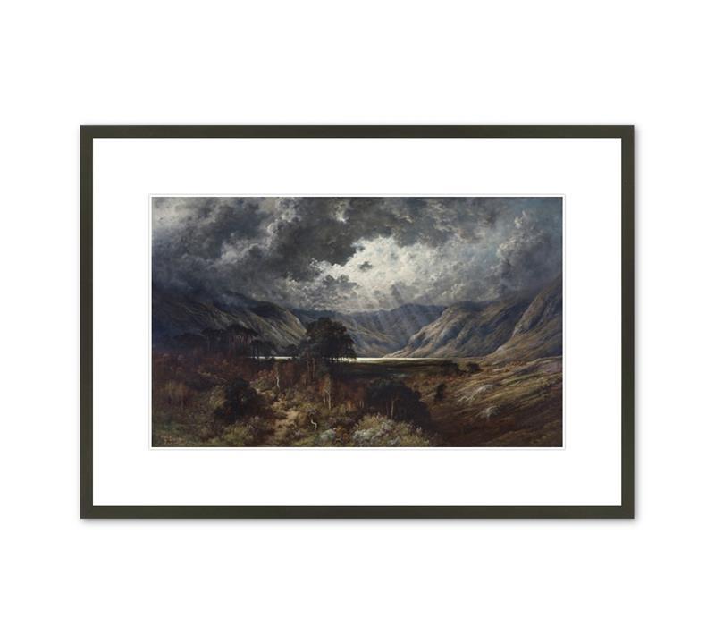 Framed Print Dore Loch Lomond