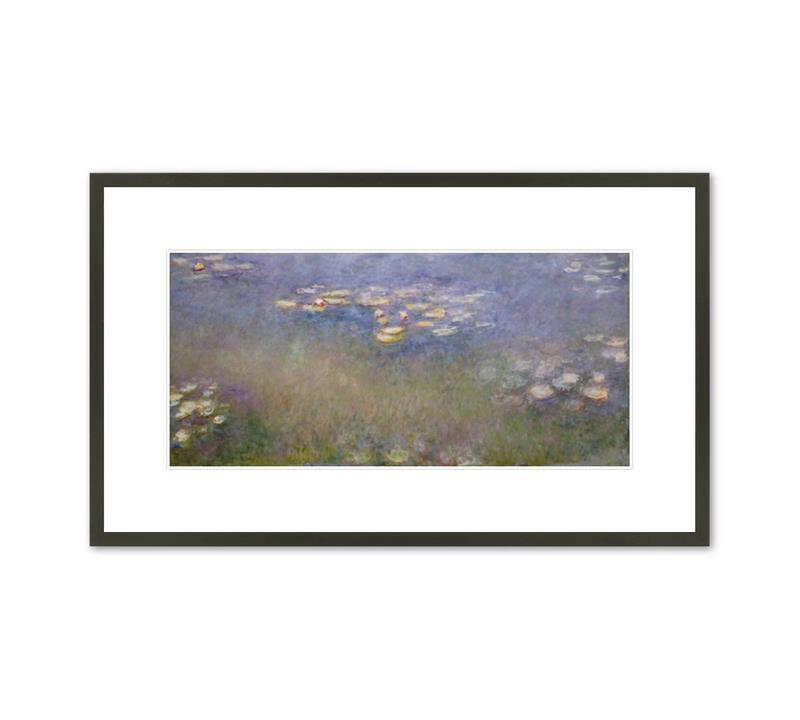 Framed Print Monet Waterlilies