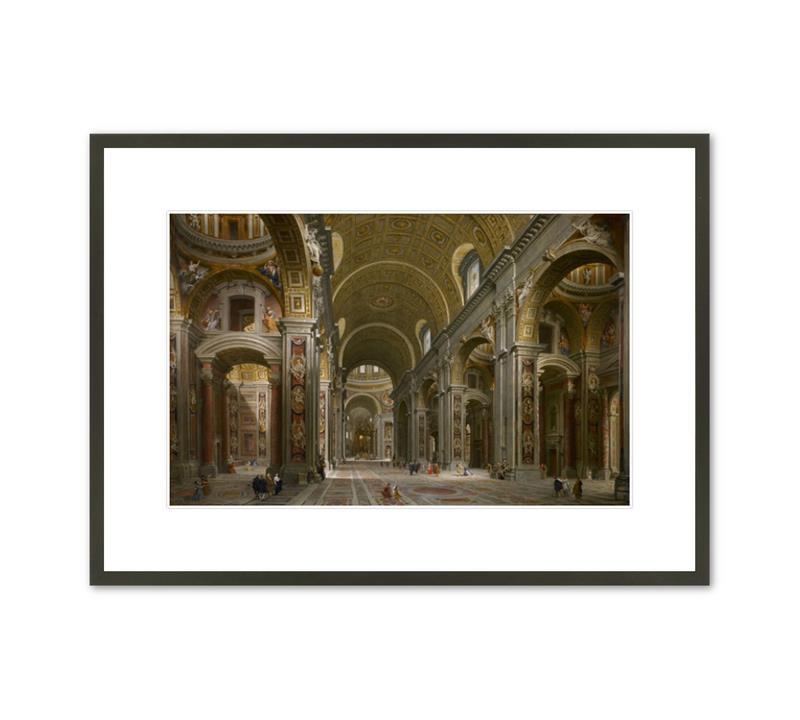 Framed Print Panini St. Peter's, Rome