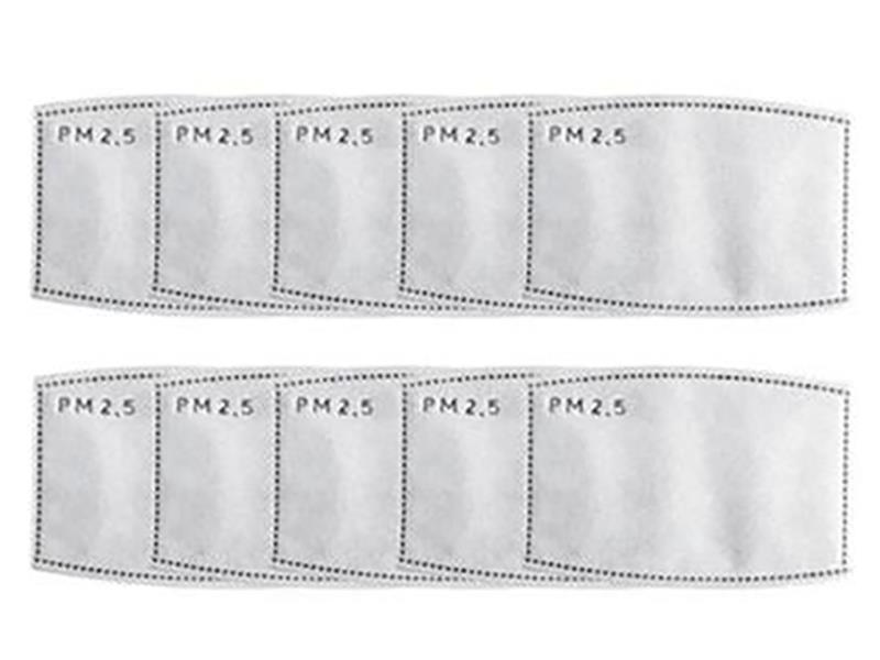 Filters for Face Mask Pack of 10,FM-FILTERS