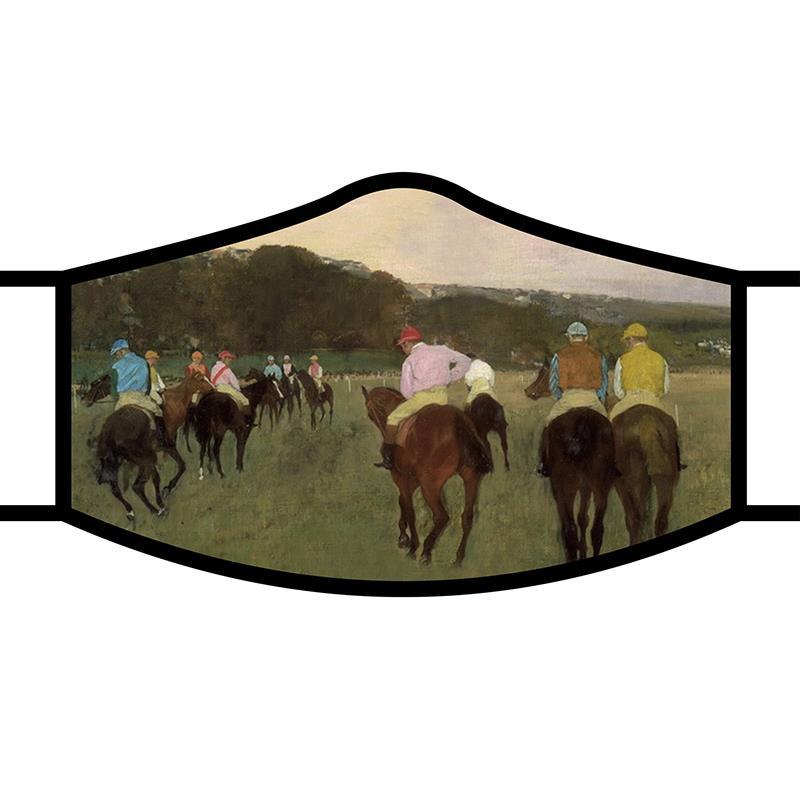 Face Mask FA Degas Racehorses,FM-M11
