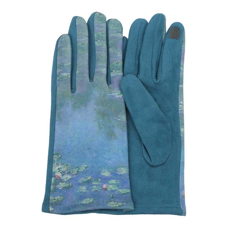 Gloves Monet Waterlilies,G-M16