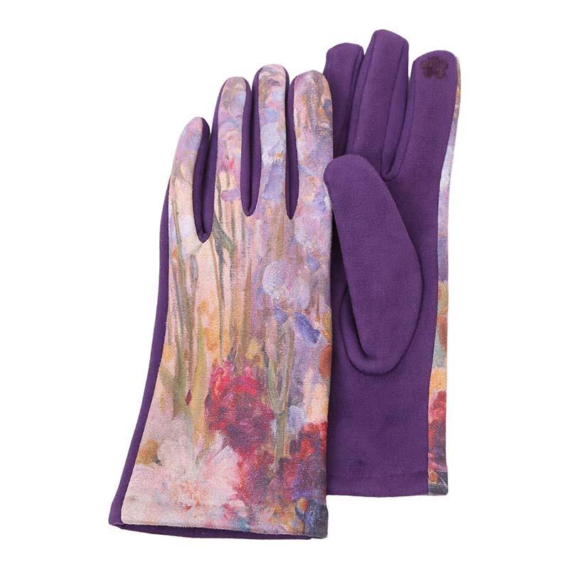 Gloves Tiffany Peonies and Iris,G-M04