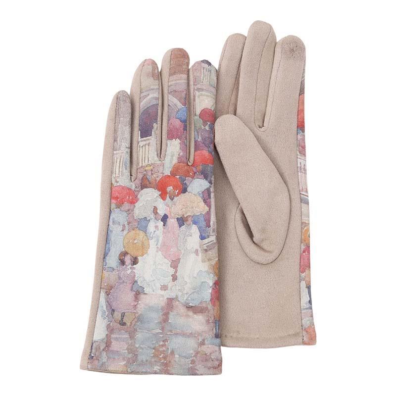 Gloves Prendergast Umbrellas in the Rain,G-M01