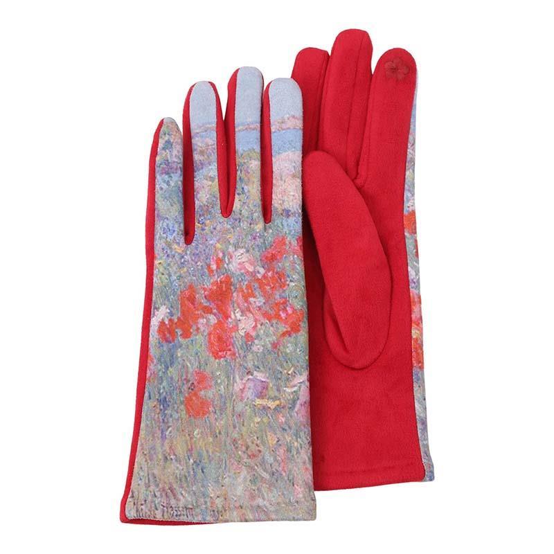 Gloves Hassam Celia Thaxter's Garden Isle of Shoals Maine,G-M21