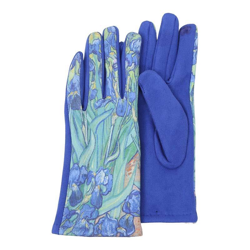 Gloves van Gogh Irises,G-M06