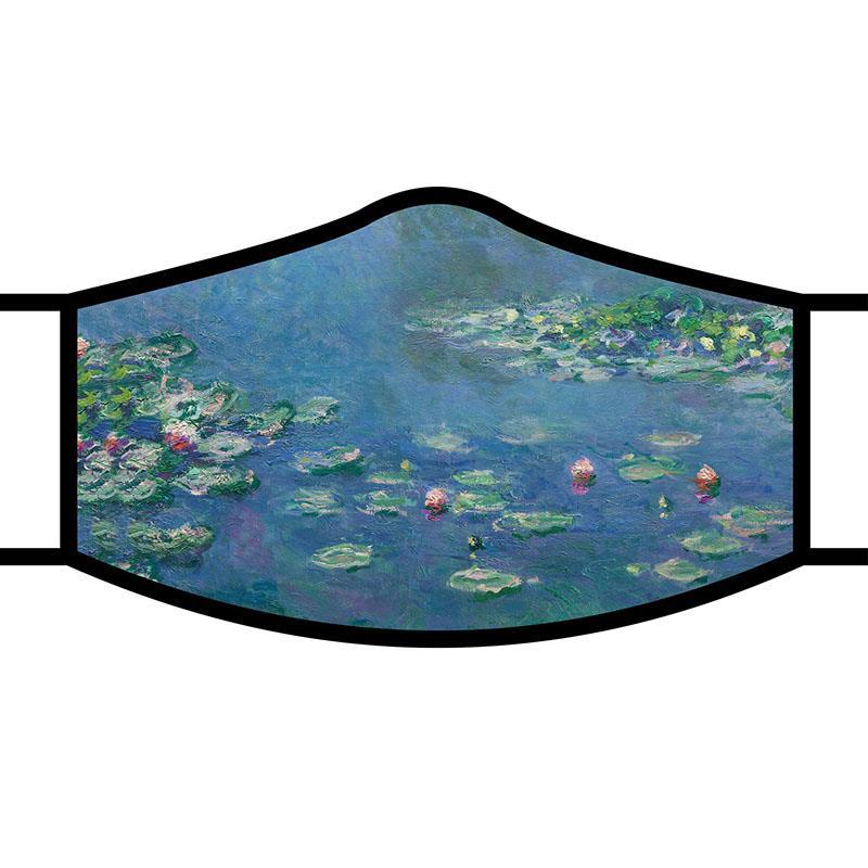 Face Mask FA Monet's Waterlilies,FM-M16