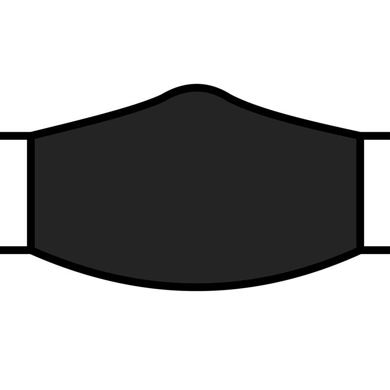 Face Mask Basic Black,FM-BLACK